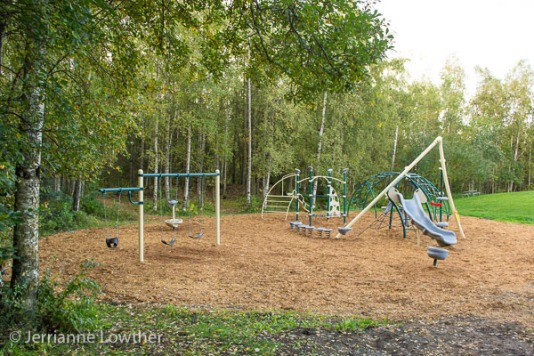 All new Catherine Carte Playground installed in Scenic Park September 2013.